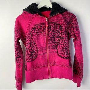 Lululemon Special/edition snowflake scuba hoodie